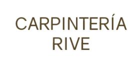 CARPINTERÍA-EBANISTERÍA RIVE