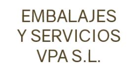EMBALAJES Y SERVICIOS VPA SL